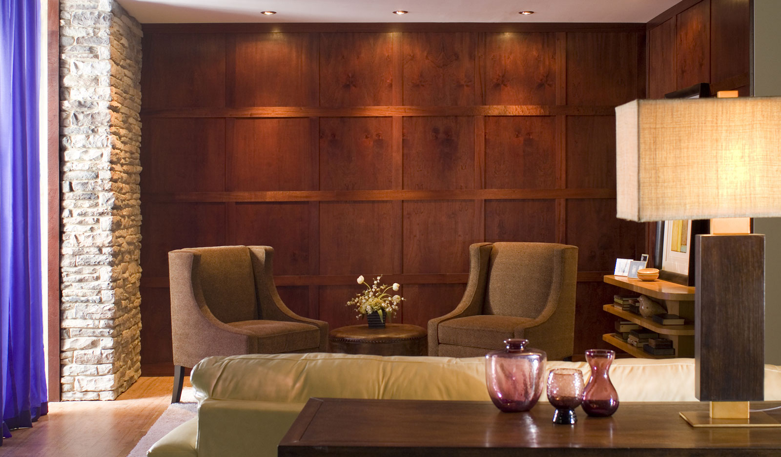 wood wall veneer