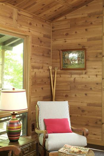 Rustic Western Cedar Paneling