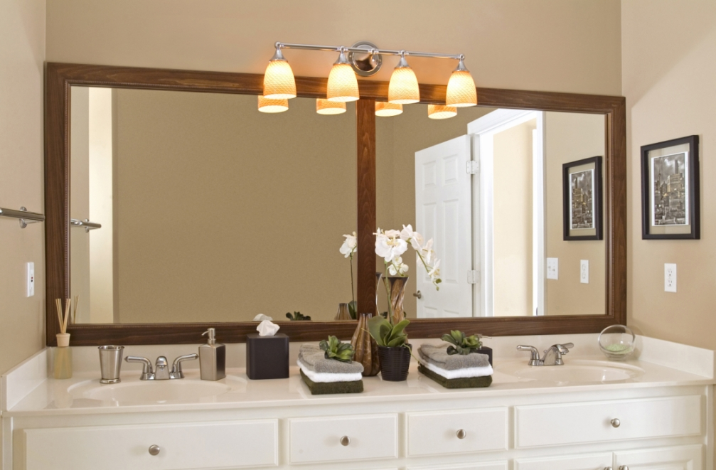 Wakefield Mirror Frame with Divider